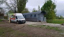 Izolace stěn a střechy vagónu - Třeština-Háj